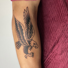 Tom McMahon Tattoo Traditional  Egeal Gold Coast Tattoo