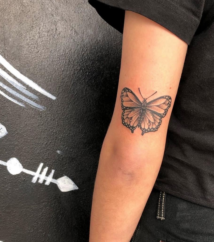 Butterfly tattoo jaz Absolute tattoo