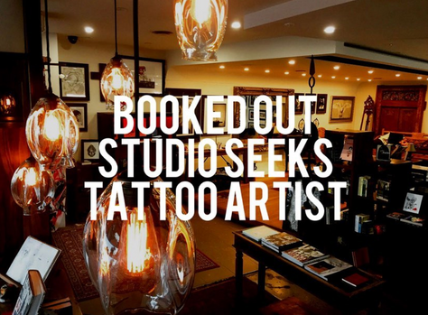 Seeking another Tattoo Artist for the Kingscliff studio. Currently booked out and need more artists.