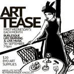 ART TEASE: Live Drawing