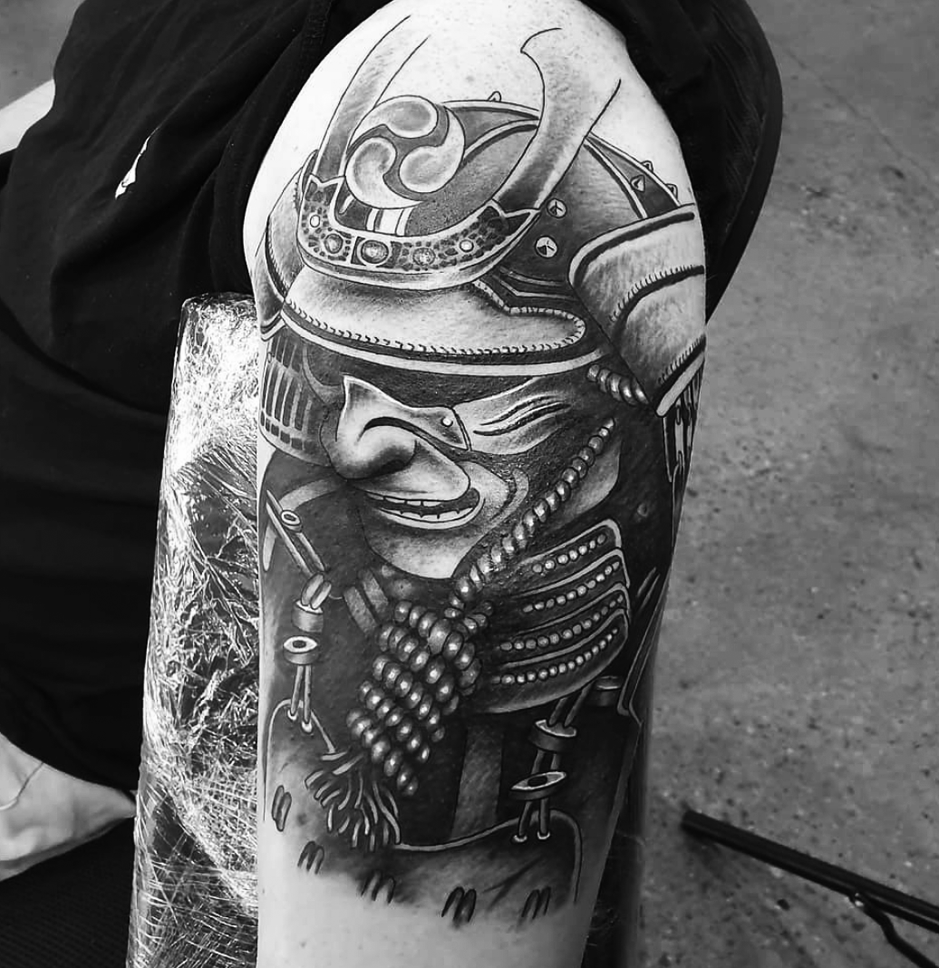 Sumarai sleeve dane absolute tattoo