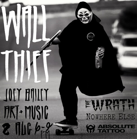 "WALL THIEF: Joey Bailey ""Blood 'n' Bone"""