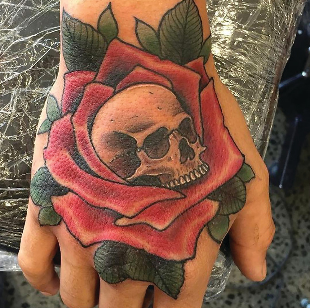 Traditional Rose cameron absolute tattoo