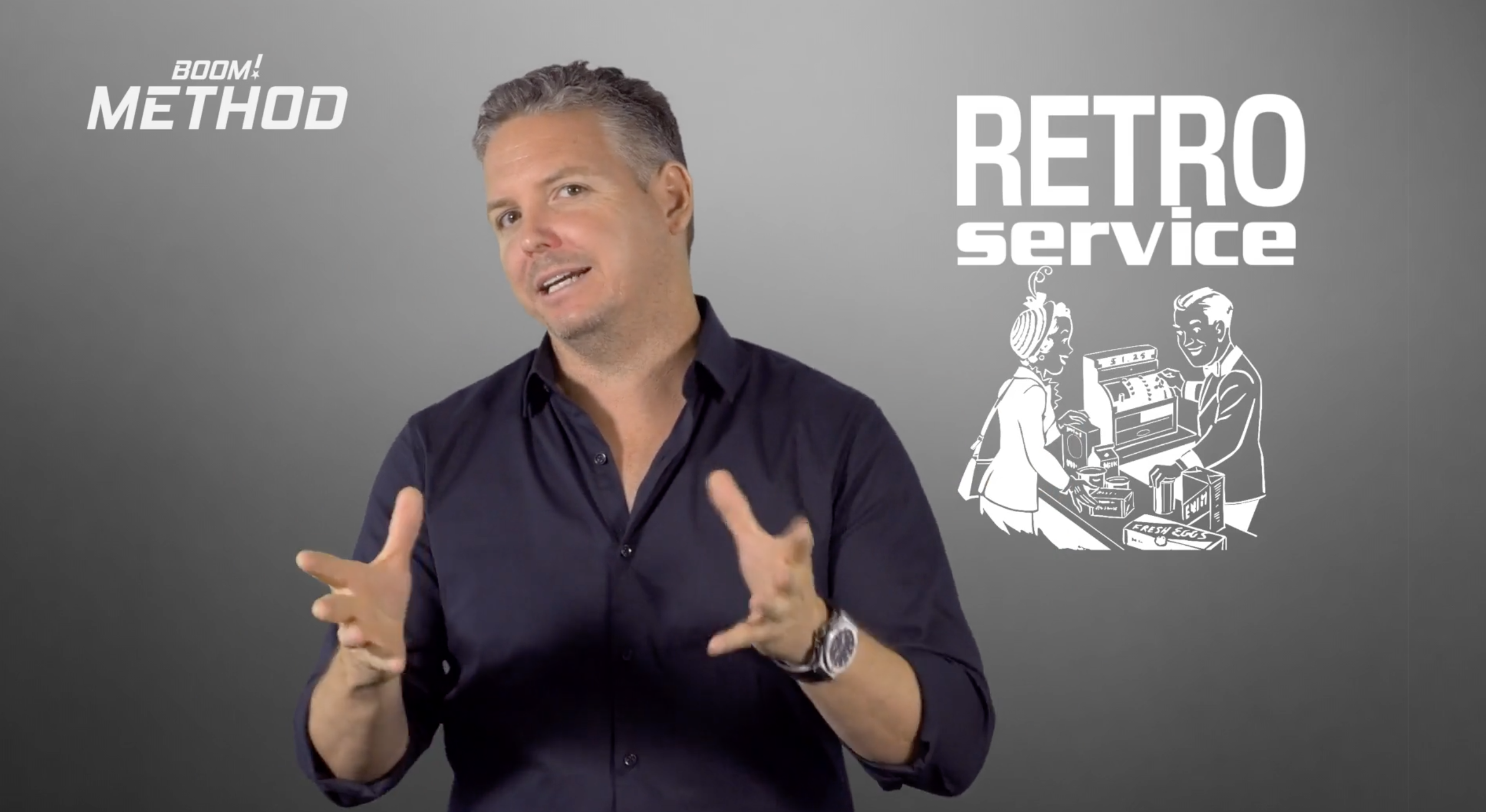 BOOM! Sales Trainign Retro Service