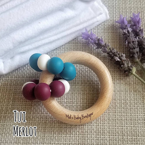 Double Willow Teething Ring