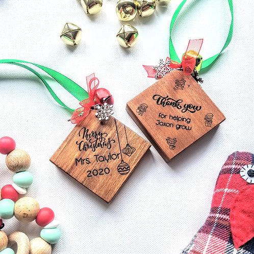 Teacher Christmas Tree Decorations
