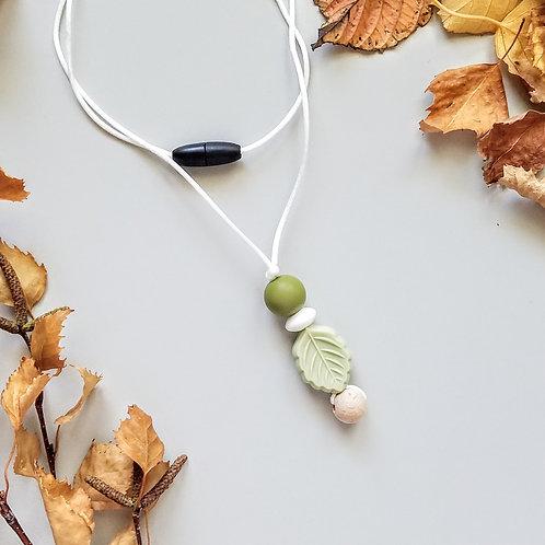 Leafy Pendant Sensory Necklaces
