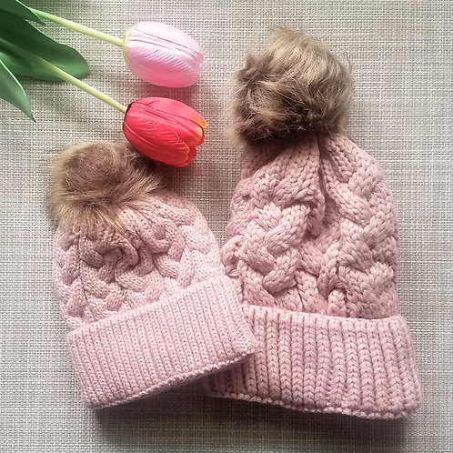 Mummy & Me Knitted Beanies
