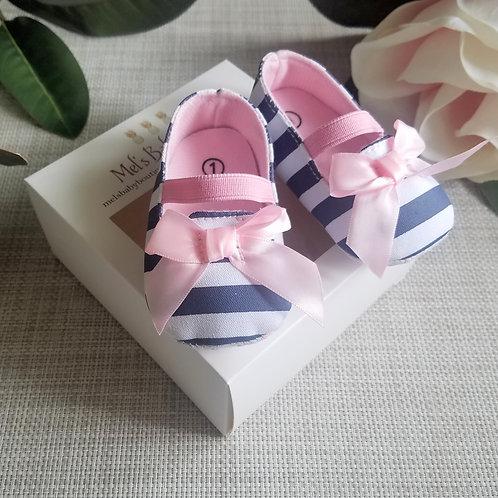 Pink Bow Princess Shoes