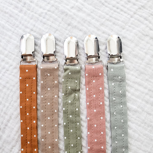 Linen Dummy Chain- Polka Dot