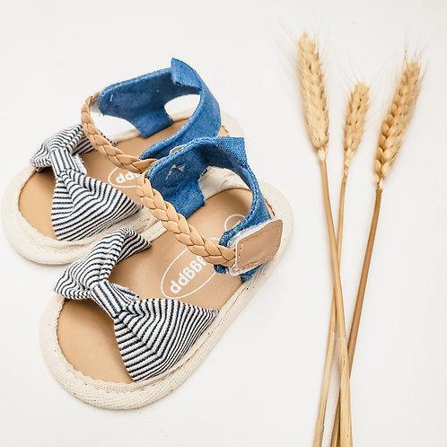 Sandals Denim & Stripe