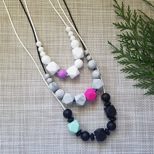 """Colour Pop"" Teething Necklaces"