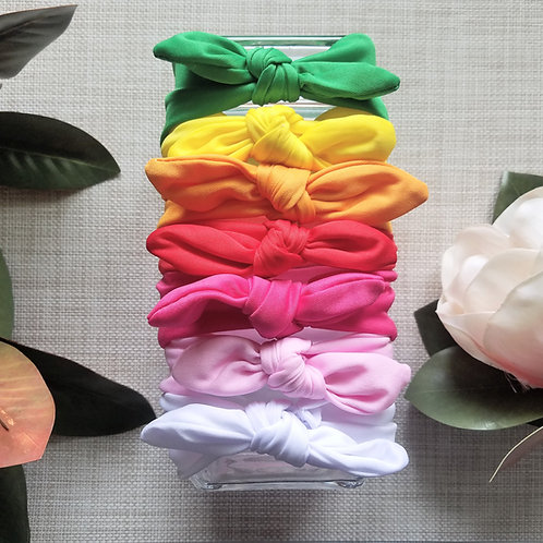 Single Colour Stretchy Headband