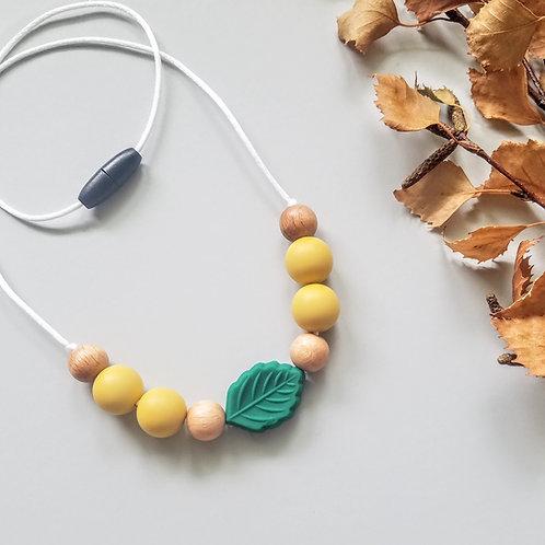 Leafy Sensory Necklace