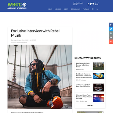 Exclusive Interview with Rebel Muzik - W