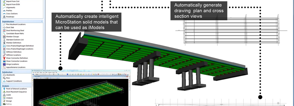 Generate bridge project deliverables_EDI