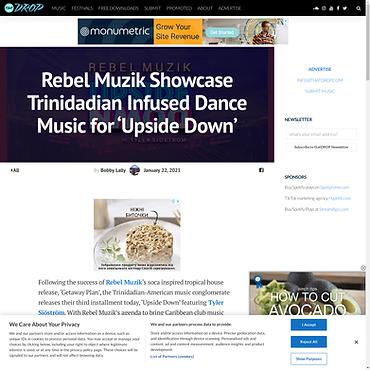 Rebel Muzik Showcases Trinidadian Infuse