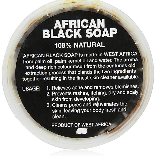 African Black Soap 200grams