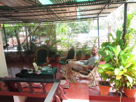 Morven's Ayurvedic experience in Kerala, India