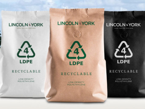 LDPE coffee pouch packaging offers upcycling opportunities