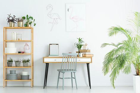 clean office or studio
