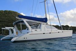 Catamaran Charter Caribbean Leopard