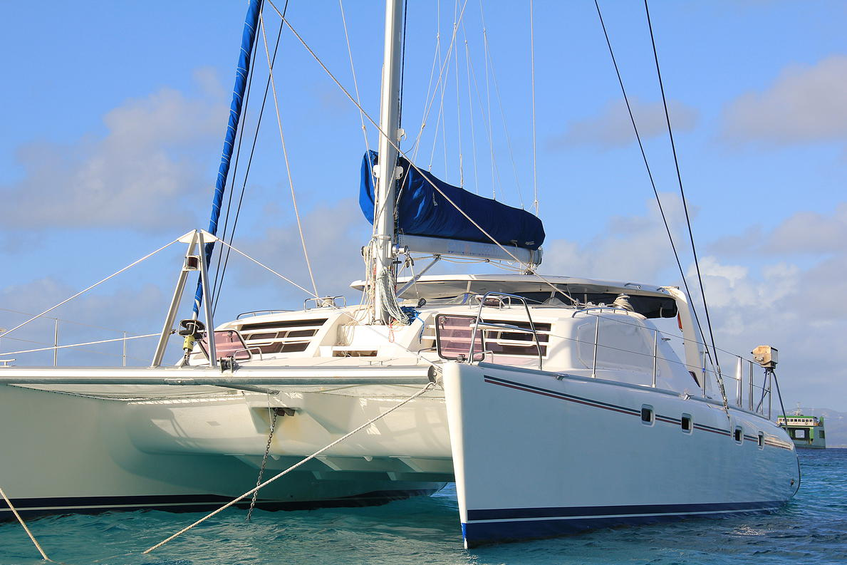 Rent catamaran Caribbean St. Maarten