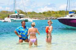 Beach Water Activities Catamaran Charter BVI