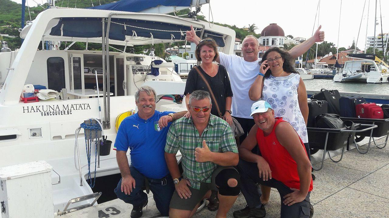 Hakuna Matata Crew, St. Maartin Nov 20 2016