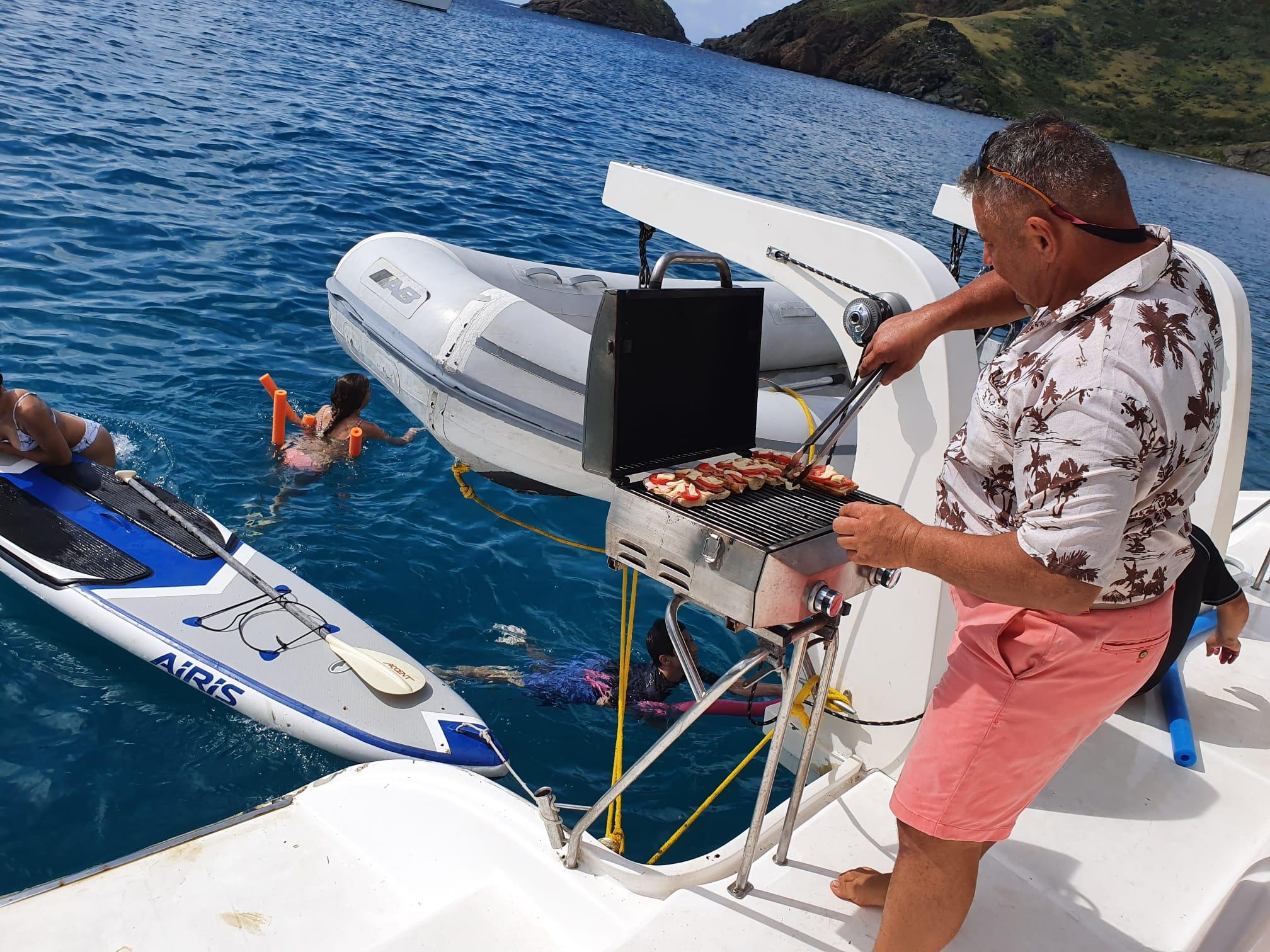 BBQ on Hakuna Matata St. Maarten