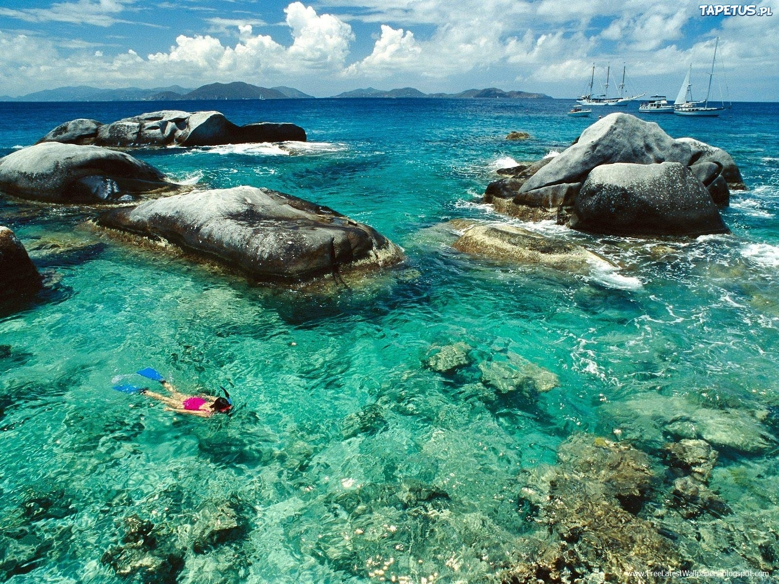 BVI Virgin Gorda Snorkeling