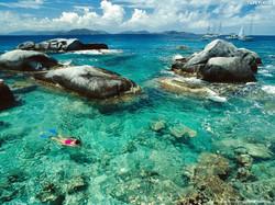 BVI Virgin Gorda Snorkeling