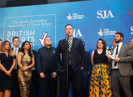 Record Entries For SJA British Sports Journalism Awards