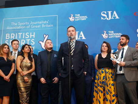 Record Entries For SJA British Sports Journalism Awards