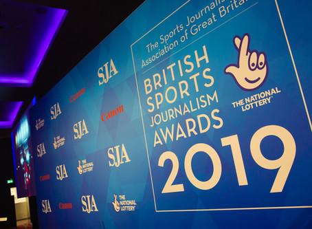 Record Numbers Attend SJA British Sports Journalism Awards