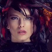 High end makeup beautiful fashion model face blonde makeup photoshop retouching retouched retoucher united kingdom