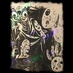 haunted tribal album art
