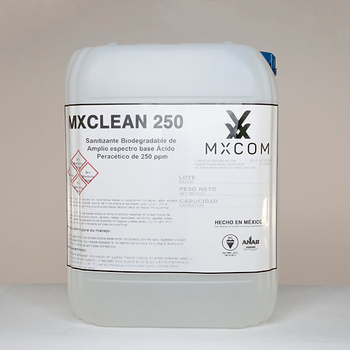 MXCLEAN 250 / Envase de 20 Litros