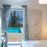 Basement bedroom 1 pool view