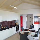 Upper floor kitchen