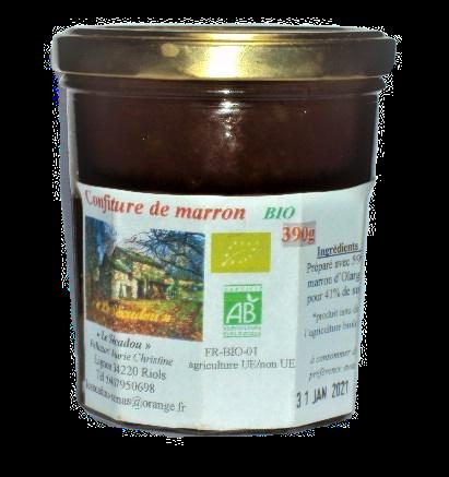 Confiture de marron    6,00€