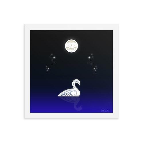 Swan Lake frame print (12x12)