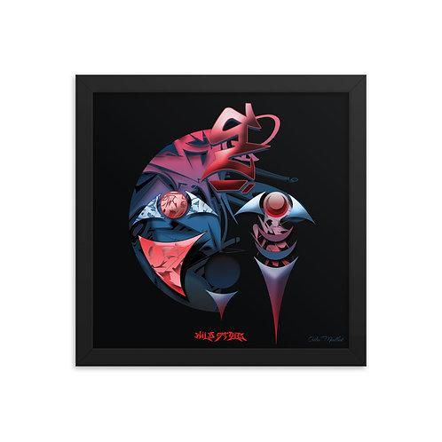 WildStyle '21 framed print (12x12)