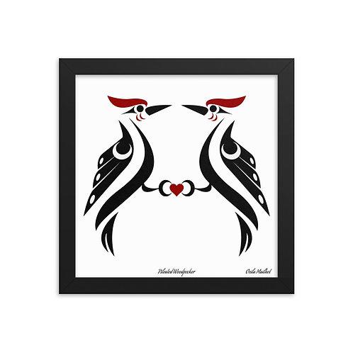 Pileated Woodpecker (12x12 Framed)