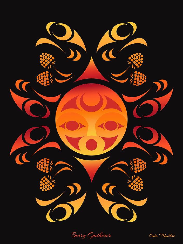 Berry Gatherer - Ovi Mailhot 36x48.jpg