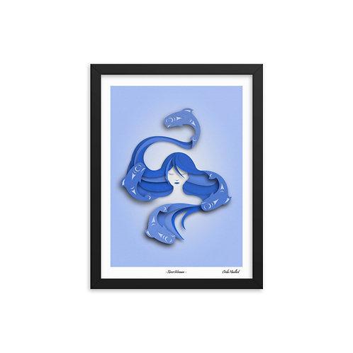 River Woman (12x16 Framed)