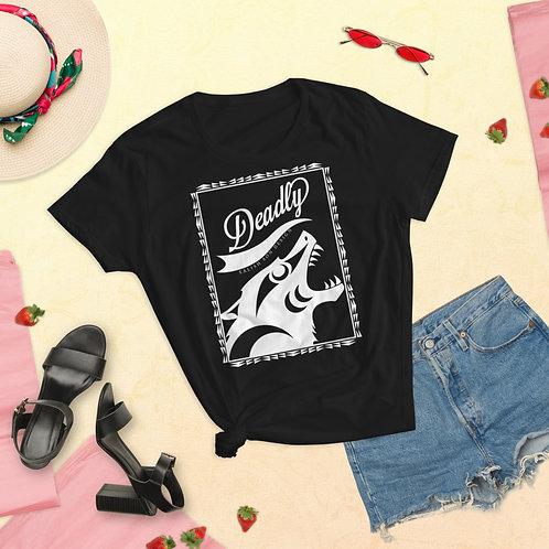Feelin' Deadly (women's tshirt)