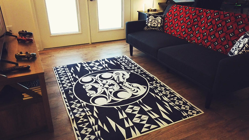 Bearing your Heart Rug and Pillows