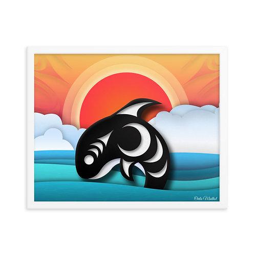 Blackfish (16x20 Framed)