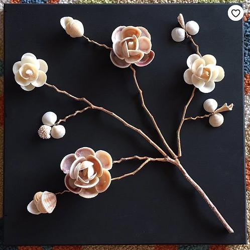 Shell Flower Art